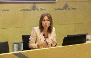 La tinenta d'alcaldia i responsable d'Hisenda i Règim Interior de l'Ajuntament de Girona, Maria Àngels Planas