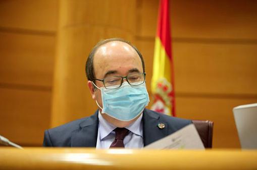 El ministro Miquel Iceta