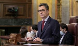 El ministro de la Presidencia, Félix Bolaños
