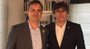 Hèctor López Bofill i Carles Puigdemont