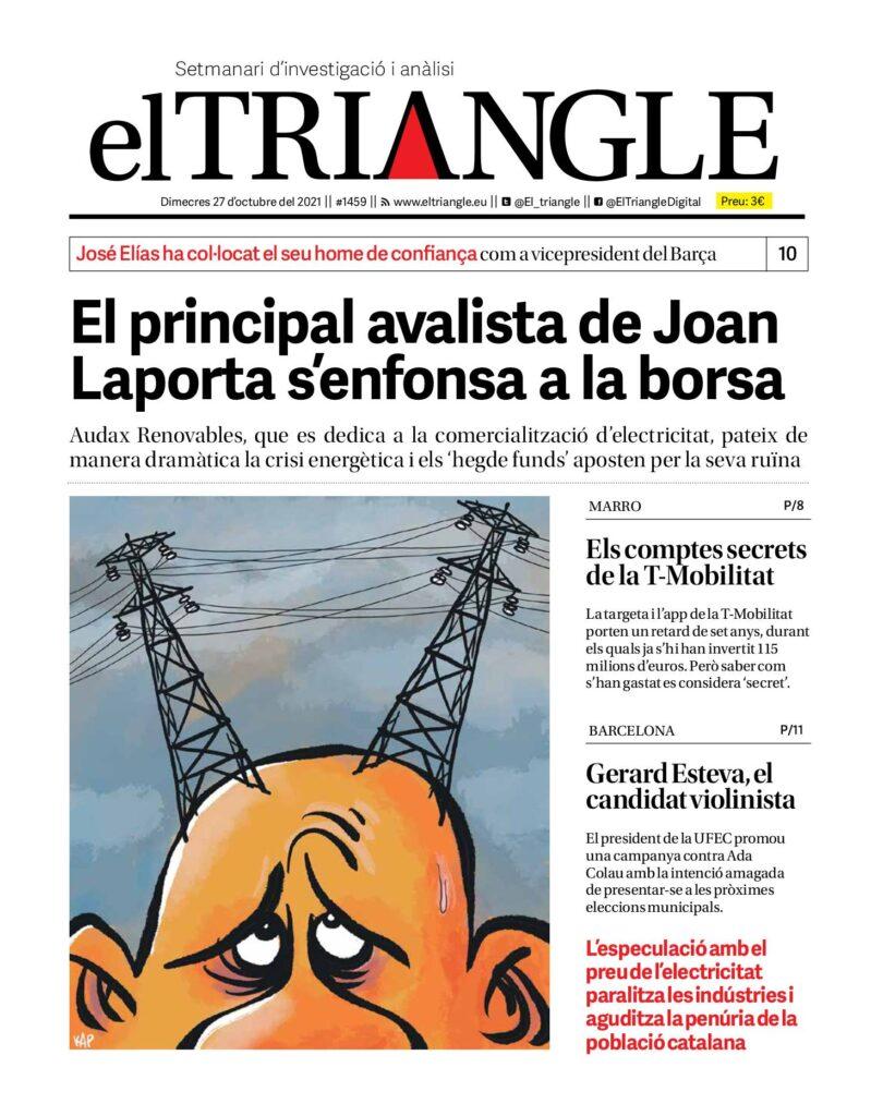 El principal avalista de Joan Laporta s'enfonsa a la borsa